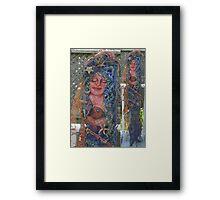 Heavy Metal Mermaids Framed Print