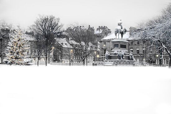 Charlotte Square III by Chris Clark