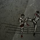 In The Ring: Thai Boxers by Eve Monteiro