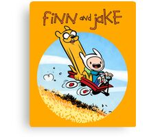 Finn and Jake Canvas Print