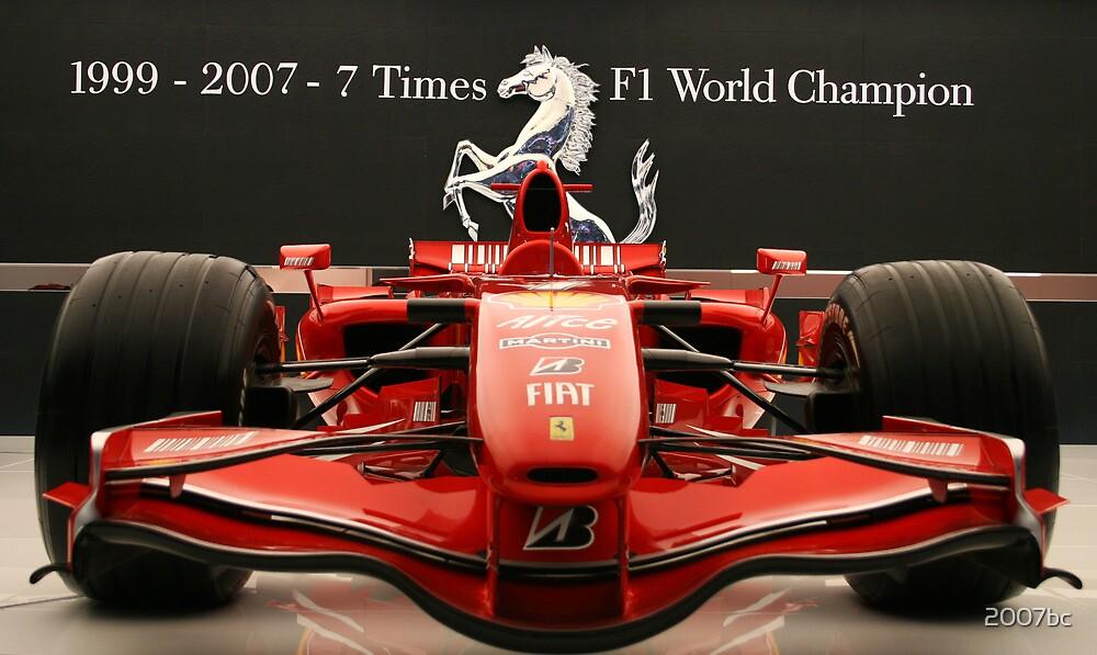 Ferrari Formula 1 Celebration by 2007bc