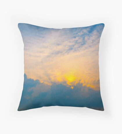 Oh, fickle sky Throw Pillow