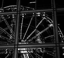 London Eye Reflection by Tom Bosley