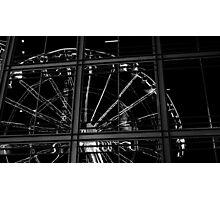 London Eye Reflection Photographic Print