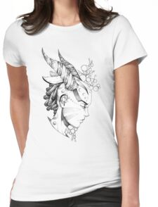 Lady of the forest  Womens Fitted T-Shirt