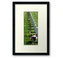 Memorial Day at Leavenworth Framed Print