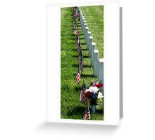 Memorial Day at Leavenworth Greeting Card