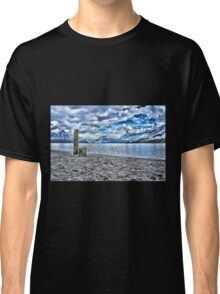 Cloudy day at lake lucerne Classic T-Shirt