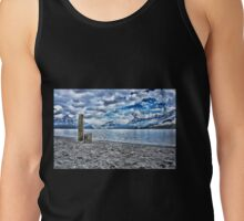 Cloudy day at lake lucerne Tank Top
