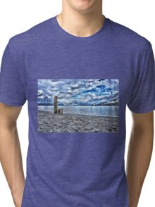 Cloudy day at lake lucerne Tri-blend T-Shirt