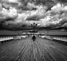 Cromer Pier by Kathy Wright