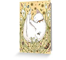 Butterflies and Bees Greeting Card
