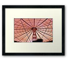 Umbrella on a Sunny day Framed Print