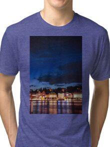 Lucerne by night Tri-blend T-Shirt