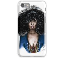 kinky hair iPhone Case/Skin