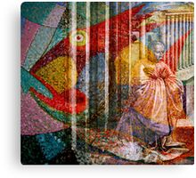 FISHES ~ LOAVES ~ AND FAITH FACTOR Canvas Print