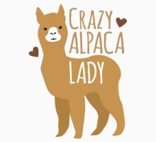 Crazy Alpaca Lady Kids Tee