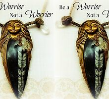 Be a Warrior Not a Worrier Ooak Designed Orthoceras Nymph-ish Goddess by AingealNymph