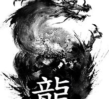 Dragon ink by jkeuchkarian