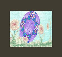 Happy Easter or Pretty Foil Egg Womens Fitted T-Shirt