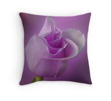 Mystical Purple Throw Pillow