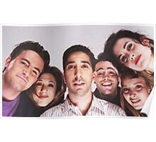 Friends Cast Selfie Poster