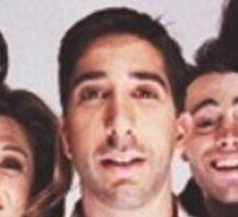Friends Cast Selfie Sticker
