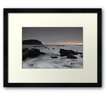 Forresters Beach NSW 14 July 2010 Framed Print
