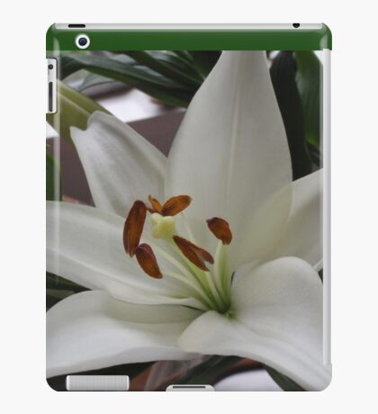 Wonderfully White With Super Stamens iPad Case/Skin