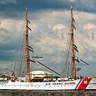 USCG Eagle (Tall Ship Panoramic) by MKWhite