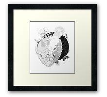 Inner force Framed Print