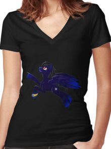 Sirius Women's Fitted V-Neck T-Shirt