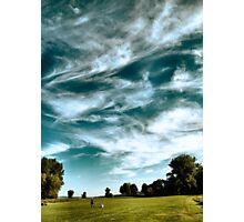 View of Treman Park Photographic Print