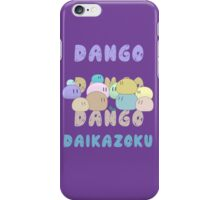 Dango Dango Daikazoku iPhone Case/Skin