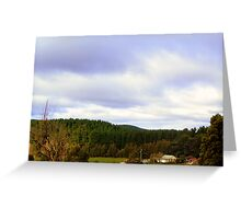 Little house in the Ranges Greeting Card
