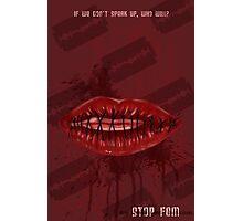 female genital mutilation poster Photographic Print