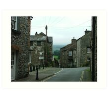 Intersection - Kirkby Lonsdale, Cumbria, England Art Print