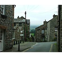 Intersection - Kirkby Lonsdale, Cumbria, England Photographic Print