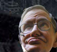 Hawking Talking Sticker