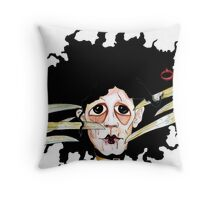 Edward scissors hands Throw Pillow