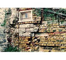 A Wall in Somers Gardens Photographic Print