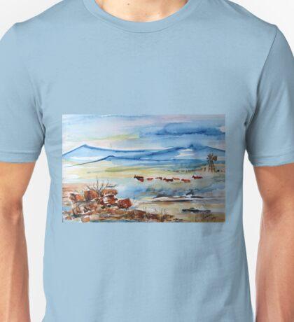 Cattle going home Unisex T-Shirt