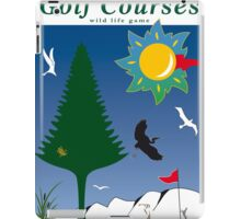 Sport Golf Courses Print Posters Decoration iPad Case/Skin