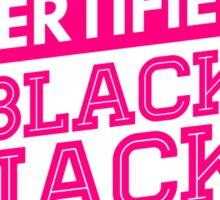 Certified 2NE1 BLACKJACK Sticker
