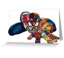 Spiderman on Acid Greeting Card