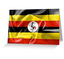 Uganda Flag Greeting Card