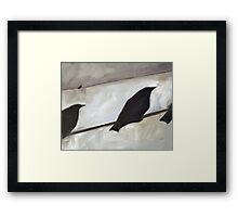 Looking Up 9 Framed Print