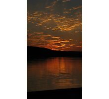 Gotta love a good sunset at dusk Photographic Print