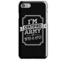 Certified BTS ARMY iPhone Case/Skin