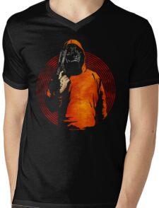 Keep Your Eye On The Prize (Black) Mens V-Neck T-Shirt